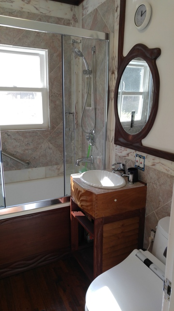 bathroom remodel 8 a little trim by dan lyke homerefurbers