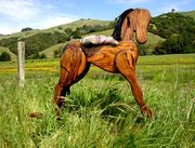 Finished rocking horse